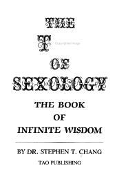 The Tao Of Sexology