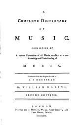 A Complete Dictionary of Music
