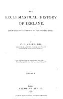 The Ecclesiastical History of Ireland PDF