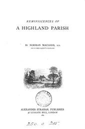 Reminiscences of a Highland Parish