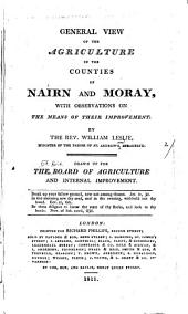 Agricultural Surveys: Nairn and Moray (1811)