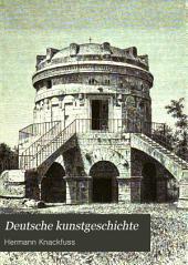 Deutsche kunstgeschichte: Band 1