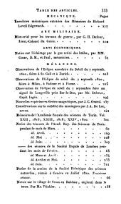 Bibliothèque universelle des sciences, belles-lettres, et arts: Volume15,Numéros2à12
