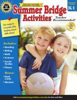 Summer Bridge Activities    Grades K   1 PDF