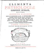 Elementa physiologiae corporis humani: Volume 8