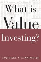 What Is Value Investing  PDF