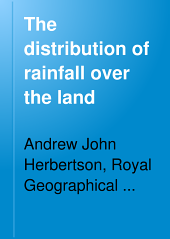 The Distribution of Rainfall Over the Land