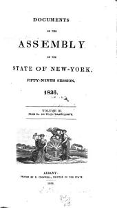 Documents of the Assembly of the State of New York: Volume 59, Issues 3-4