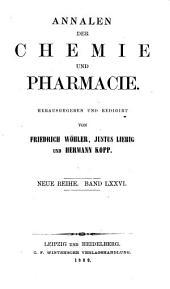 Annalen der Pharmacie: Band 152
