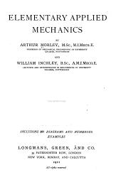 Elementary Applied Mechanics