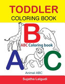 Toddler Coloring Book. ABC Coloring Book