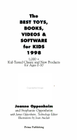 The Best Toys  Books  Videos   Software for Kids  1998 PDF