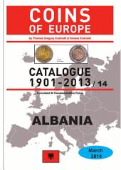Coins of ALBANIA 1901-2014: Coins of Europe Catalog 1901-2014
