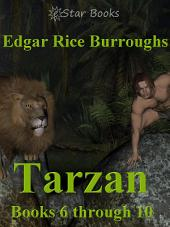 Tarzan Books 6 through 10