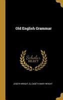 Old English Grammar PDF