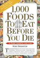 1 000 Foods To Eat Before You Die PDF