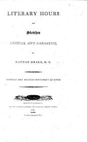 Literary hours, or, sketches critical and narrative