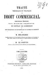 Traité théorique et pratique de droit commercial