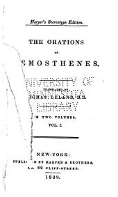 The Orations of Demosthenes: Volume 1