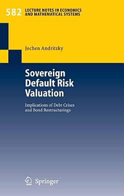 Sovereign Default Risk Valuation