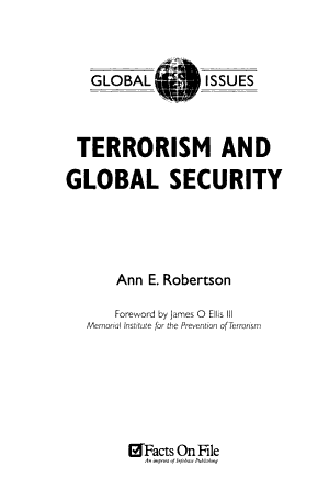 Terrorism and Global Security PDF
