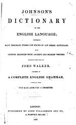Dictionary of the English Language ...
