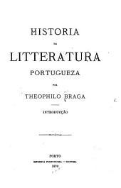 Historia da litteratura portugueza