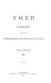 Ymer: Volym 11–12