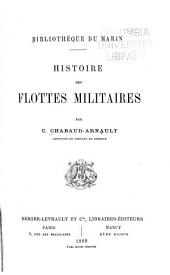 Histoire des flottes militaires