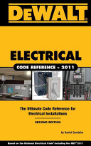 Dewalt Electrical Code Reference PDF