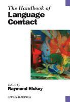 The Handbook of Language Contact PDF