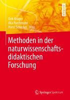 Methoden in der naturwissenschaftsdidaktischen Forschung PDF