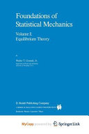 Foundations of Statistical Mechanics PDF