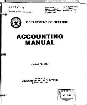 Accounting Manual PDF