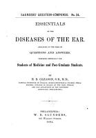 Essentials of the Diseases of the Ear PDF