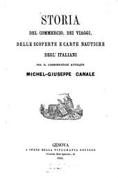 Storia del commercio, dei viaggi, delle scoperte e carte nautiche degl'Italiani