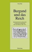 Burgund und das Reich PDF