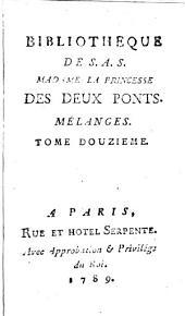 Bibliothèque universelle des dames: Volume 12