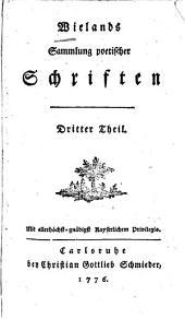 Wielands Sammlung poetischer Schriften: Band 2
