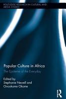Popular Culture in Africa PDF
