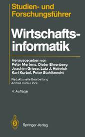 Studien— und Forschungsführer: Wirtschaftsinformatik, Ausgabe 4