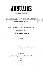 Annuaire statistique et administratif du département du Pas-de-Calais