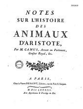 Histoire des animaux d'Aristote