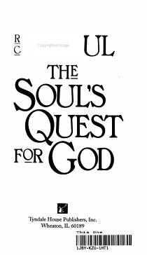 The Soul s Quest for God PDF