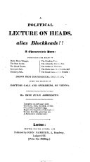 A Political Lecture on Heads  Alias Blockheads   PDF