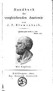 Handbuch der vergleichenden Anatomie