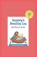 Hendrix's Reading Log: My First 200 Books (Gatst)