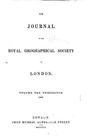 The Journal of the Royal Geographical Society of London PDF