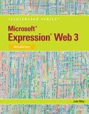 Microsoft Expression Web 3  Illustrated Introductory PDF