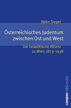sterreichisches Judentum zwischen Ost und West PDF